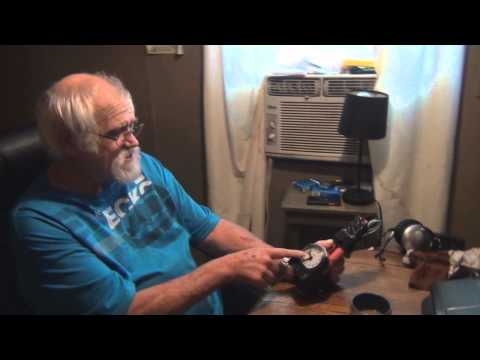 Charles Green, aka Angry Grandpa, in a screenshot from the infamous bomb prank.