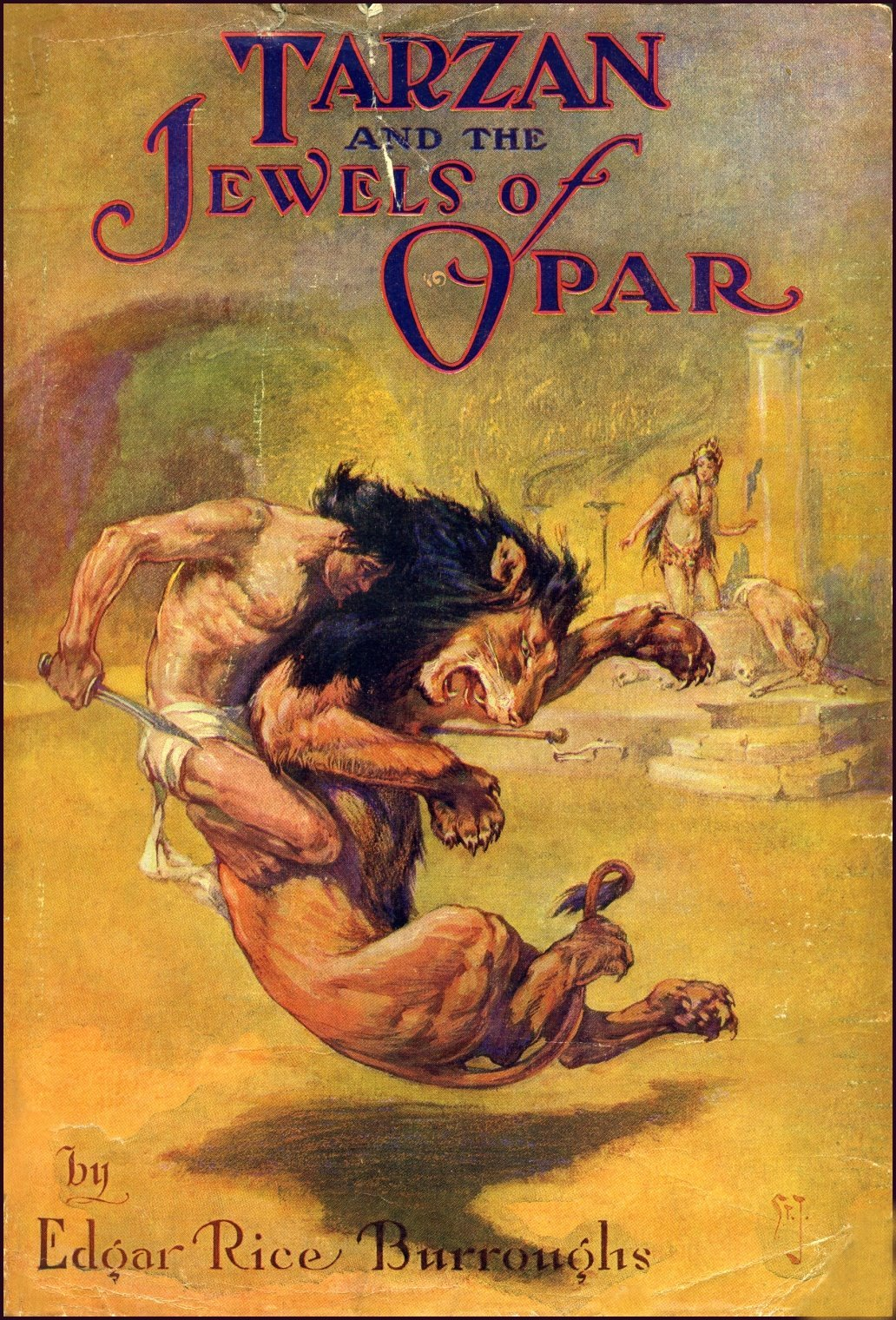 Tarzan and the Jewels of Opar (lost unfinished film