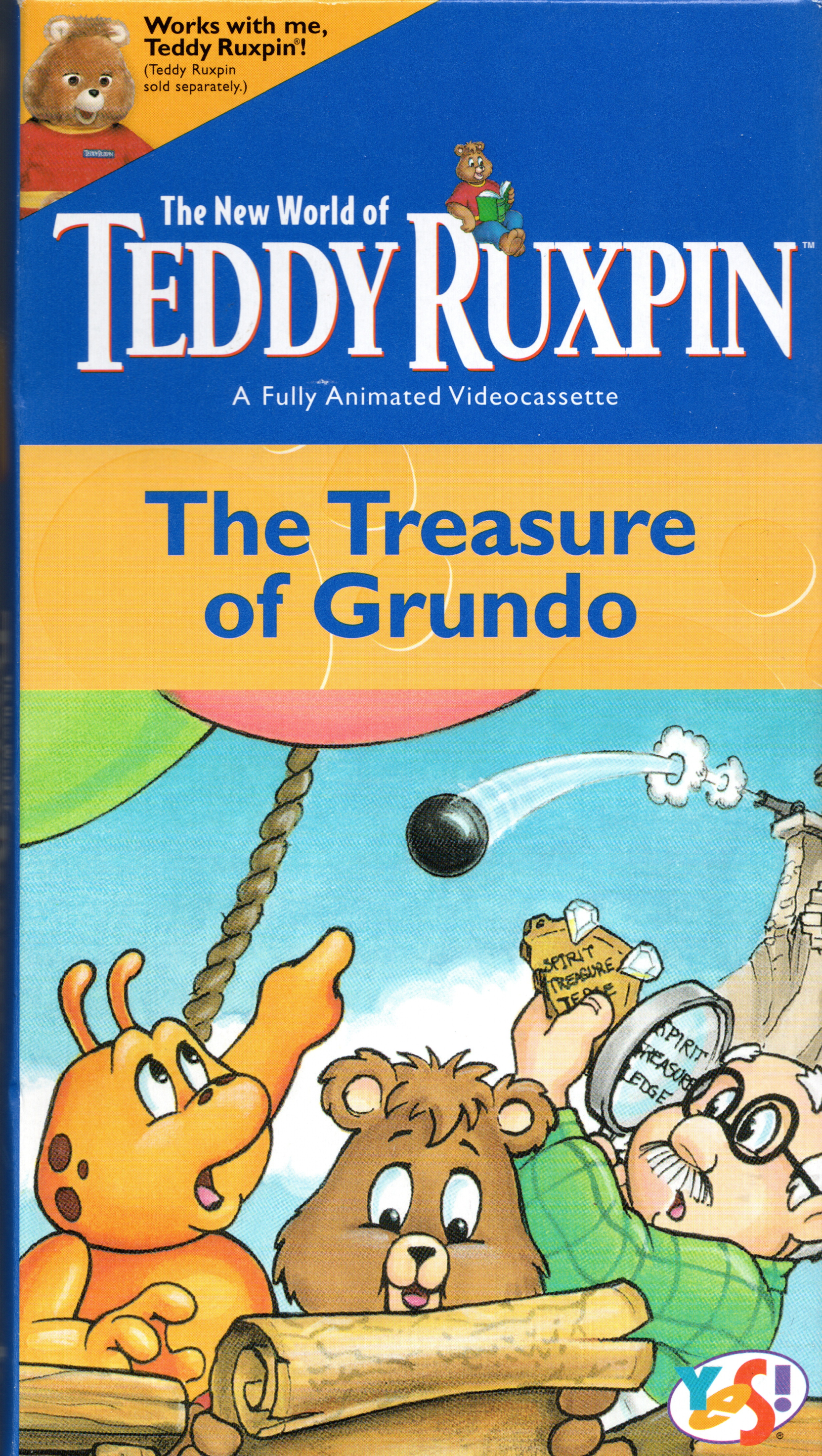 "The New World Of Teddy Ruxpin: ""The Treasure of Grundo"" (1998 re-release with voiceover)"