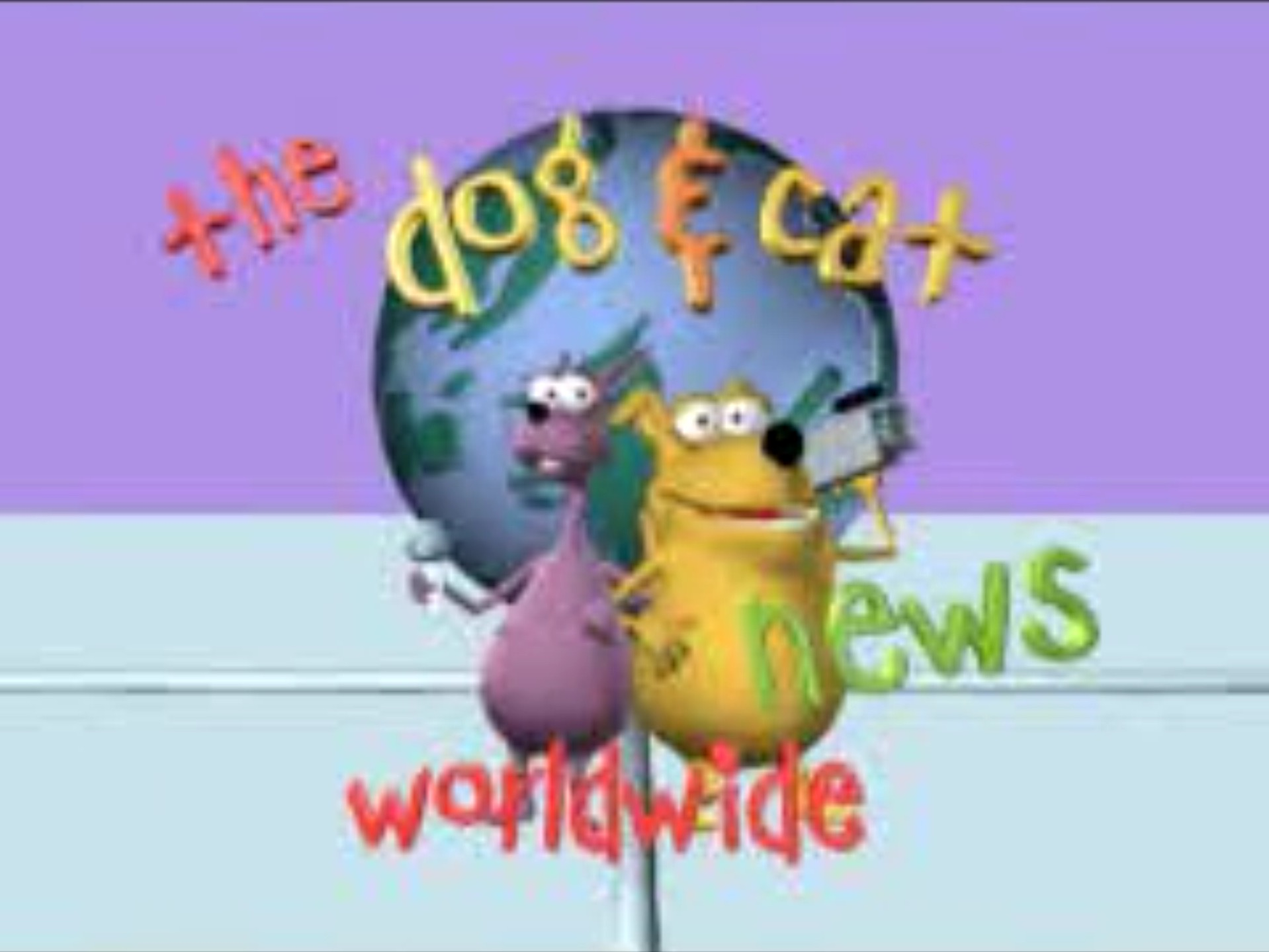 The Dog and Cat News - The Dog and Cat News (partially found Australian 3D animated series; mid-2000s)