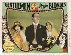 Gentleman Prefer Blondes 1928 poster 4.jpg