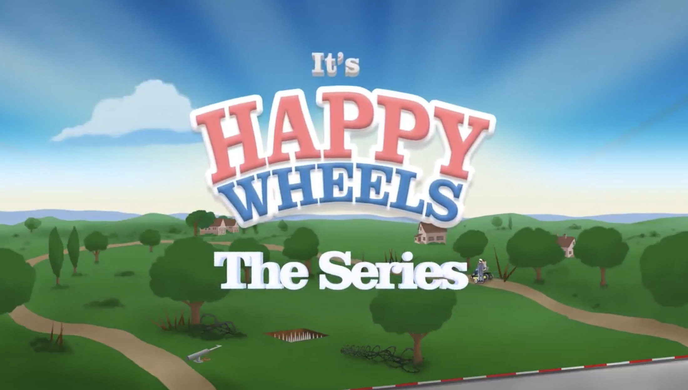 Happy Wheels the Series - Happy Wheels: The Series (partially lost go90 animated series based on mobile game; 2016)