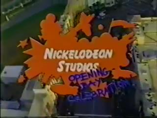 Nickelodeon Studios Opening Day Celebration (all three hours) - Nickelodeon Studios Opening Day Celebration (found live broadcast of Nickelodeon event; 1990)