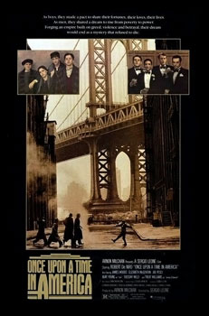 Once Upon a Time in America US Cut - Once Upon a Time in America (lost 139-minute US theatrical cut of drama film; 1984)