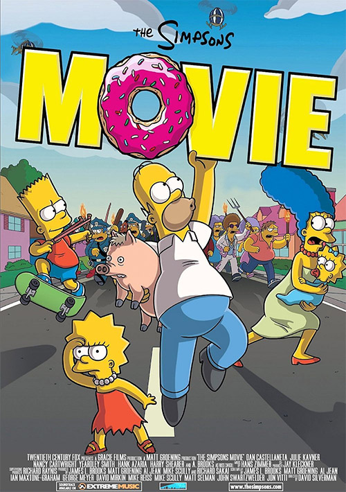 The Simpsons Movie Partially Found Alternate Versions And Deleted Scenes Of Animated Film 2007 The Lost Media Wiki