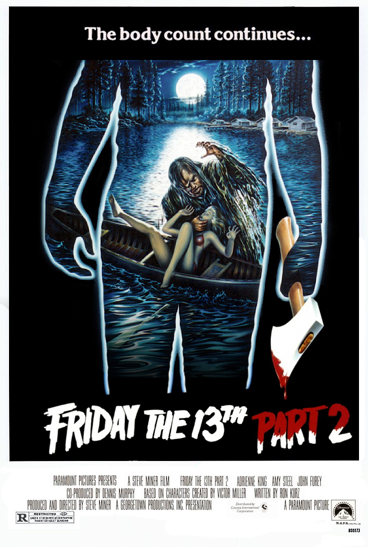 Friday the 13th Part 2 deleted scenes - Friday the 13th Part 2 (found unreleased deleted scenes from horror film; 1981)