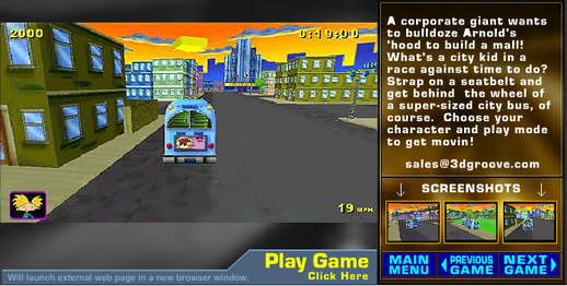 3d Groove Games Partially Lost Online Games 1998 2009