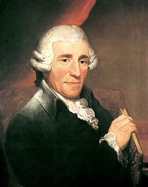 Haydn's portrait, painted in 1792.