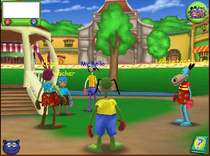 One of few images of the game's beta, circa 2002.