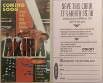 An ad/rebate offer included in the 1994 VHS release of the anime.