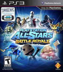 PlayStation 3 cover art to PlayStation All-Stars Battle Royale.
