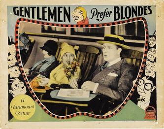 Gentleman Prefer Blondes 1928 poster 2.jpg