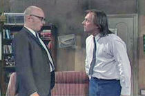 Rik Mayall and Adrian Edmonson playing Richie and Eddie in Bottom