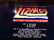 Title screen of the game.