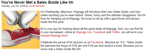 H H Gregg H H Partially Lost Advertisements From American