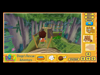 Diego 3D Rescue Screenshot.png