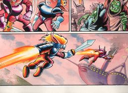 Sparkster the Rocket Knight Unreleased Comic Photo9.jpg