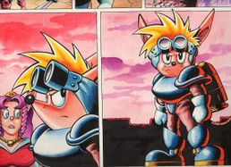 Sparkster the Rocket Knight Unreleased Comic Photo10.jpg