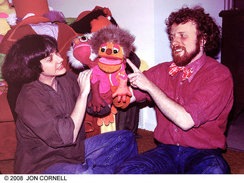 PINWHEEL PRODUCER SANDY KAVANAUGH AND PUPPETEER BRAD WIILLIA.jpg