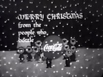 A Coca-Cola advertisement at the end of A Charlie Brown Christmas.