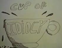 The title card for the home movie.