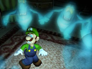 Luigi S Mansion Lost Betas Of Gamecube Game 2000 2001