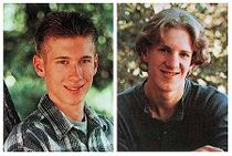 Eric Harris (left) and Dylan Klebold (right).
