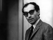 Renowned French New Wave director, Jean-Luc Godard.