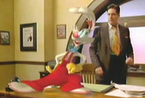 Roger Rabbit in an animated pitch test from 1998, for the intended prequel/sequel.