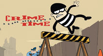 The logo for Crime Time