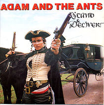 "Single cover of Stand and Deliver, the song that would be reworked into ""Save the Gorilla"""