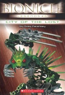 Cover of the sixth book in the Legends series.