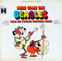 "Cover of the album ""Here Come The Beagles."""
