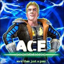 The titular character, Ace Lightning.