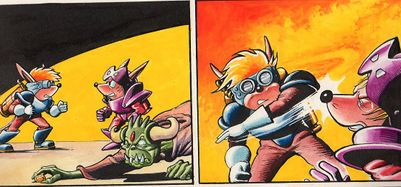 Sparkster the Rocket Knight Unreleased Comic Photo4.jpg