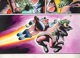 Sparkster the Rocket Knight Unreleased Comic Photo6.jpg
