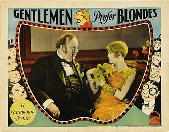 Gentleman Prefer Blondes 1928 poster 5.jpg