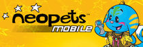 Banner ad for Neopets Mobile.