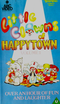 Cover of the PAL volume 1 VHS of the show.