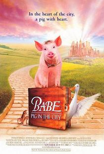 'Babe: Pig in the City' Poster.
