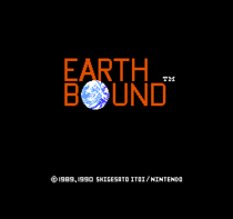 Title screen of the 1990 English translation.