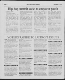 Page four of the Detroit Sunday Journal's Nov. 2, 1997 edition.