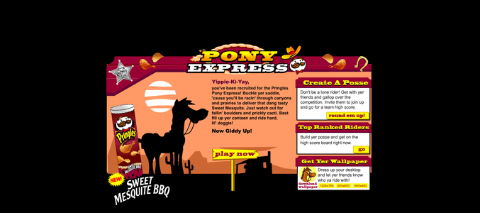 Pringles Pony Express intro.png