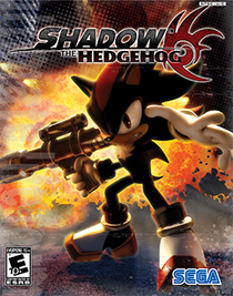 The game's North American box art.