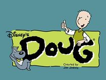 Doug and Porkchop with the logo.