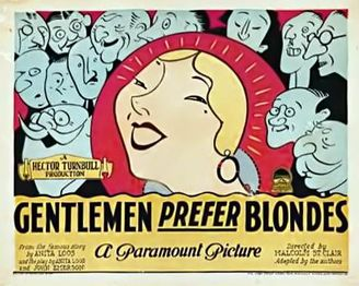 Gentleman Prefer Blondes 1928 poster 3.jpg