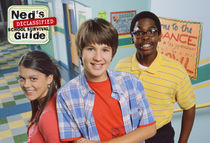 The main cast of Ned's Declassified School Survival Guide.