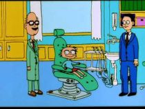 A still from Lisa: at the dentist.