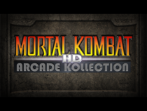 The title screen for the original version of Mortal Kombat HD Kollection.