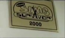 The Slime Survivor plaque as seen at Nickelodeon Studios in 2005, shortly before it's closing.